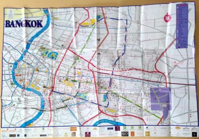 Bangkok Stadtplan