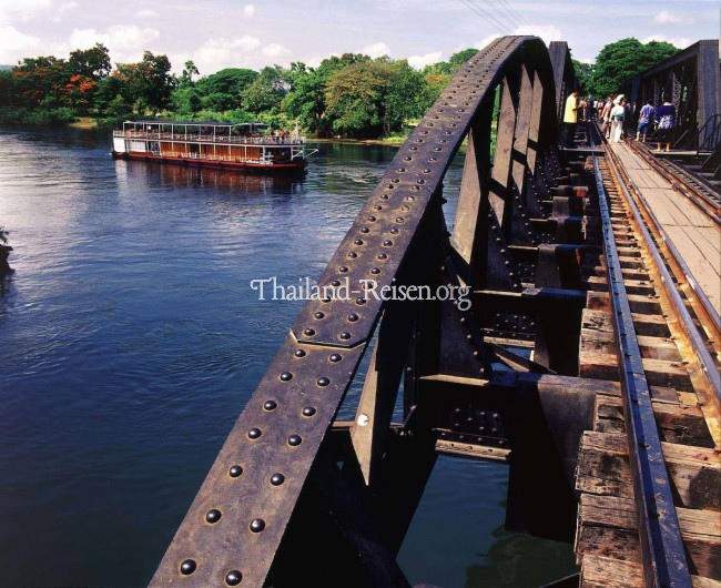 River Kwai-Brücke in Kanchanaburi