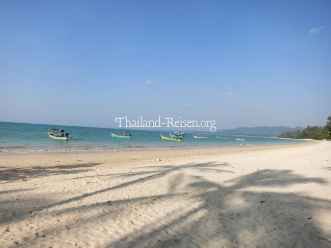 Coconut Beach in Khao Lak, Thailand