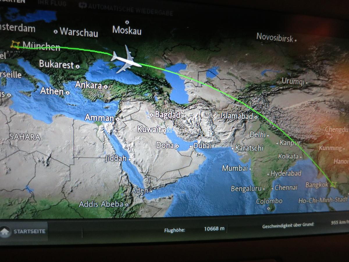 Flug Nach Thailand Flugzeit Flughafen Bangkok Suvarnabhumi