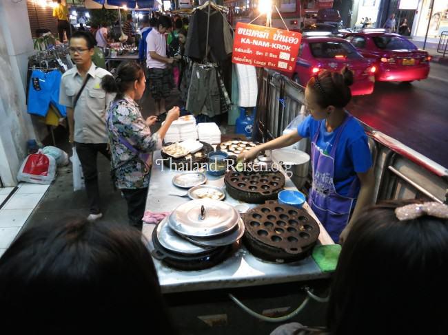 Garküchen in Bangkok (Thailand)