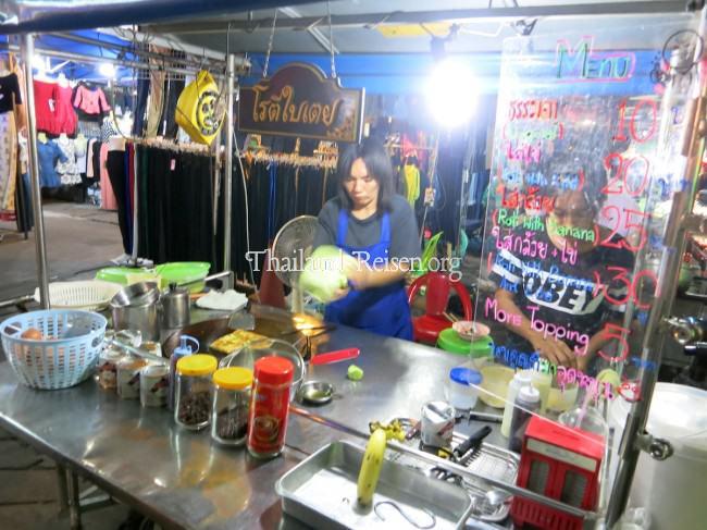 Garküche für Roti in Bangkok