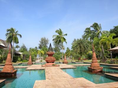 Landestypisches Hotel in Thailand