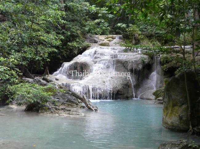 Wasserfall Erawan Falls im Nationalpark Erawan