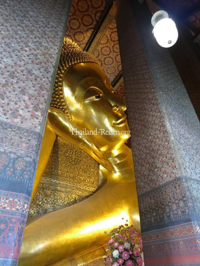 Liegender Buddha (Wat Pho) in Bangkok
