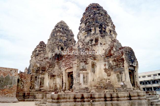 Lop Buri (Prang Sam Yot) in Zentralthailand
