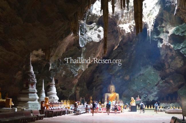 Tempelhöhle Tham Khao Luang in Phetchaburi