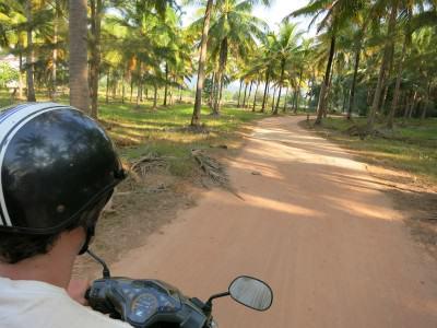 Scooter/ Motorrad-Roller sind in Thailand Pflicht