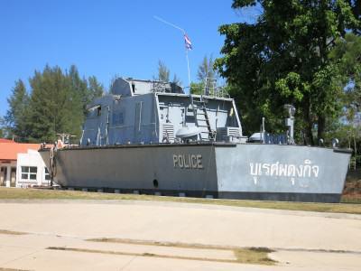 Tsunami Boat (Boot) in Thailand (Khao Lak)